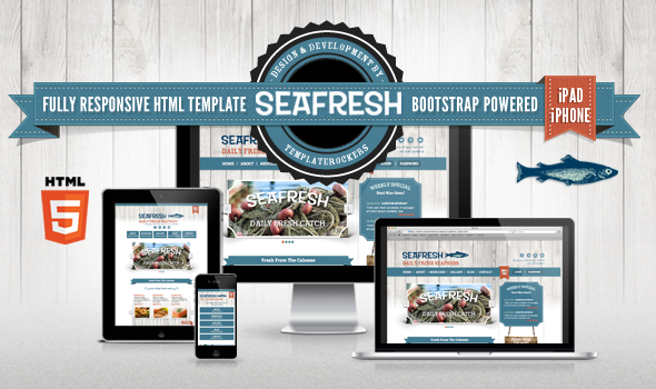 Delimondo Seafresh Fully Responsive HTML Template