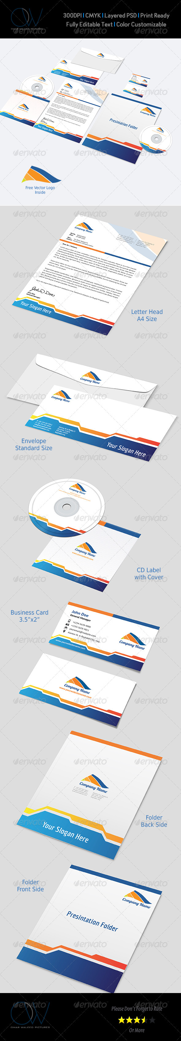 Corporate Stationery Pack Vol.4 - Stationery Print Templates