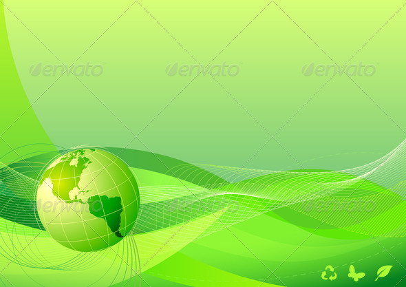 Eco Concept - Backgrounds Decorative
