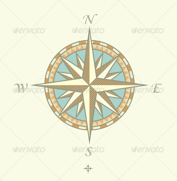 Compass Windrows - Decorative Vectors