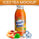 Iced Tea Mockup - GraphicRiver Item for Sale