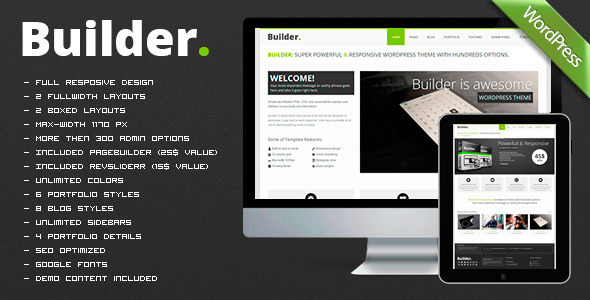 BUILDER – Responsive Multi-Purpose Theme