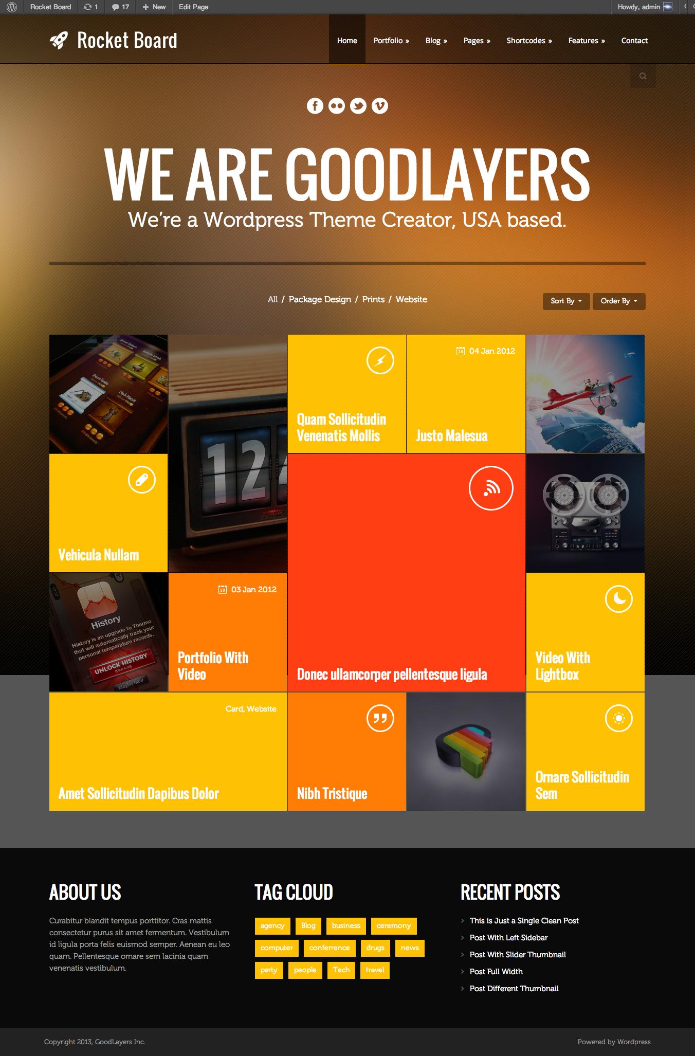 Rocket Board - Metro Wordpress Theme by GoodLayers   ThemeForest