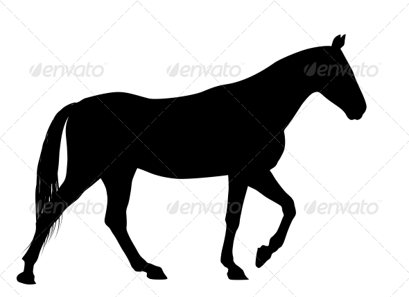 Vector Horse - Animals Characters