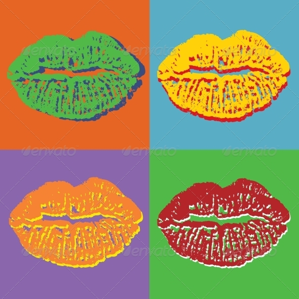 Lips Set - Valentines Seasons/Holidays