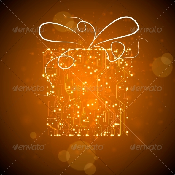 Circuit Board Vector Background - Miscellaneous Seasons/Holidays