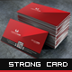 Strong - Business Card - GraphicRiver Item for Sale