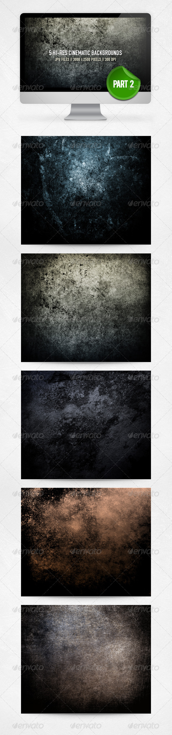 Cinematic Backgrounds - Part 2 - Miscellaneous Backgrounds