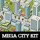 Mega Pixel City Bundle - GraphicRiver Item for Sale
