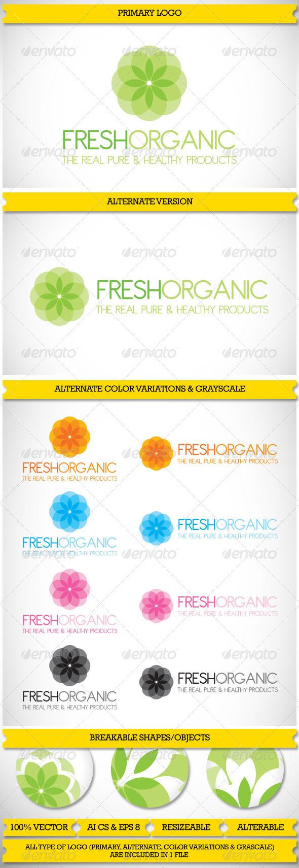 Organic & Nature Logo - Nature Logo Templates