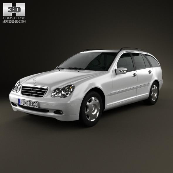 Mercedes-Benz C-Class (W203) estate 2005