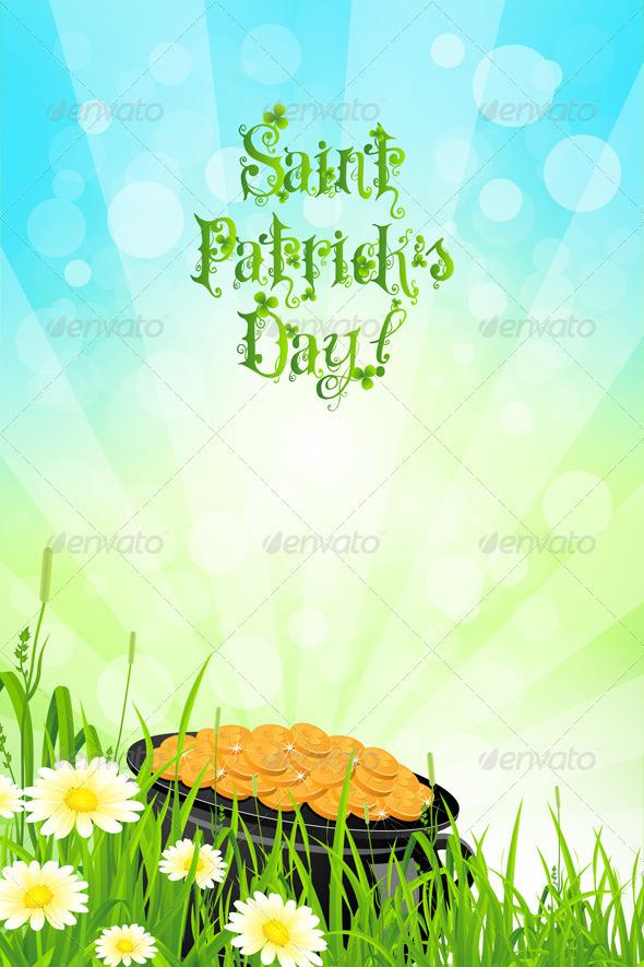 Saint Patricks Day Background - Seasons/Holidays Conceptual
