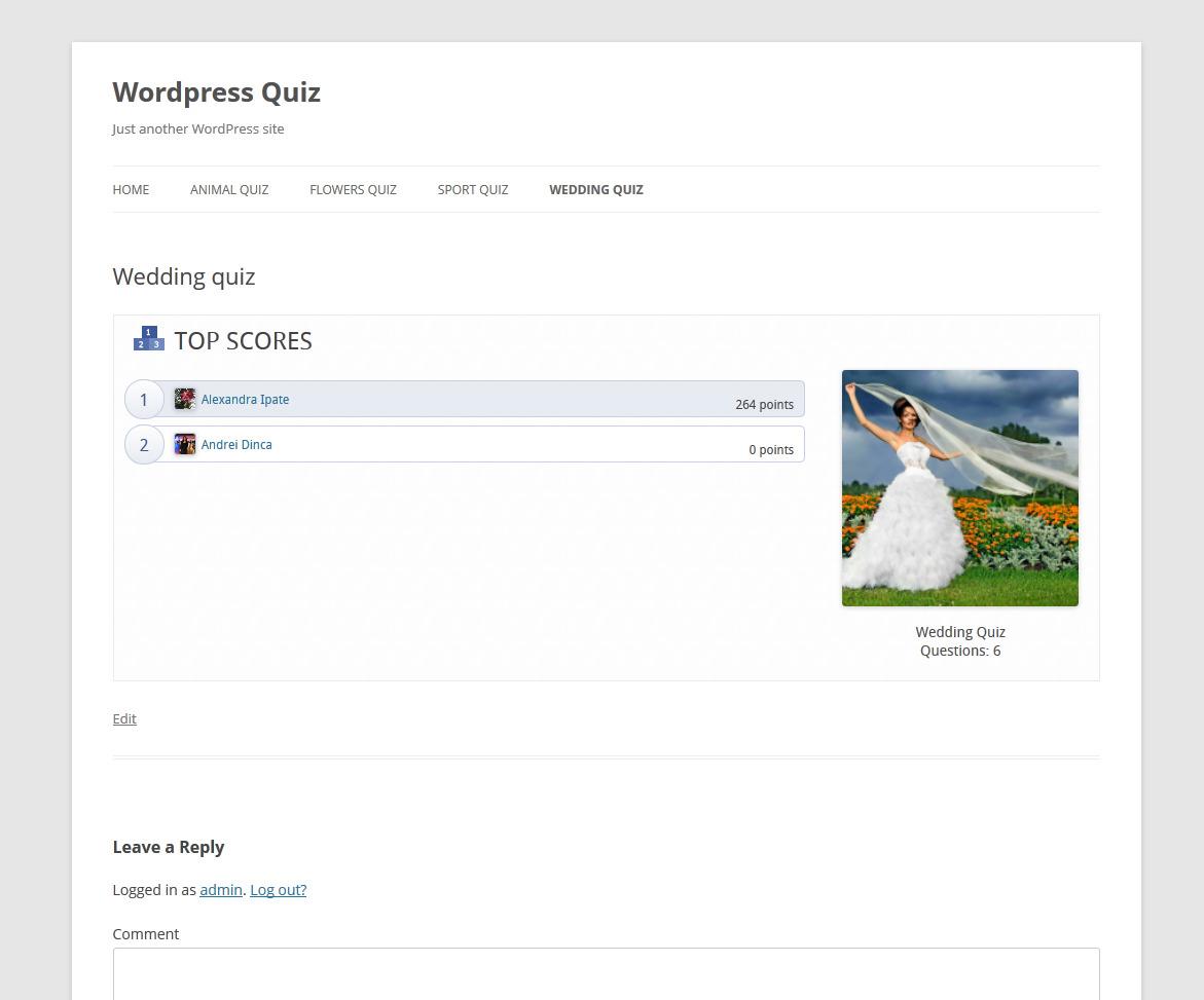 facebook singles quiz