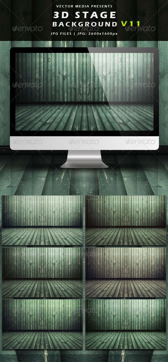3D Stage Background - Vol.11 - 3D Backgrounds