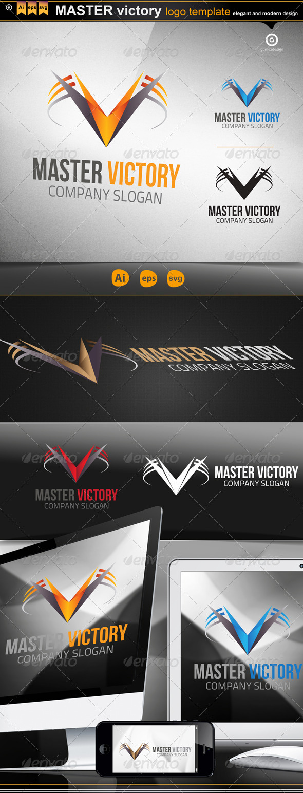 Master Victory - Logo Templates