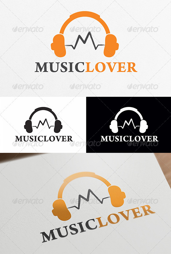 Music Lover Logo Template - Objects Logo Templates