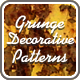 Grunge Decorative Patterns - GraphicRiver Item for Sale