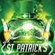 St. Patricks Flyer Template + Facebook Timeline - GraphicRiver Item for Sale