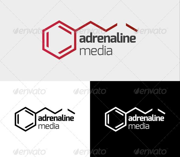 Adrenaline Logo - Vector Abstract