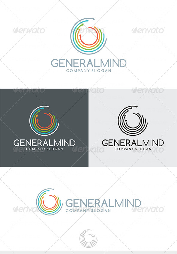 General Mind Logo - Vector Abstract