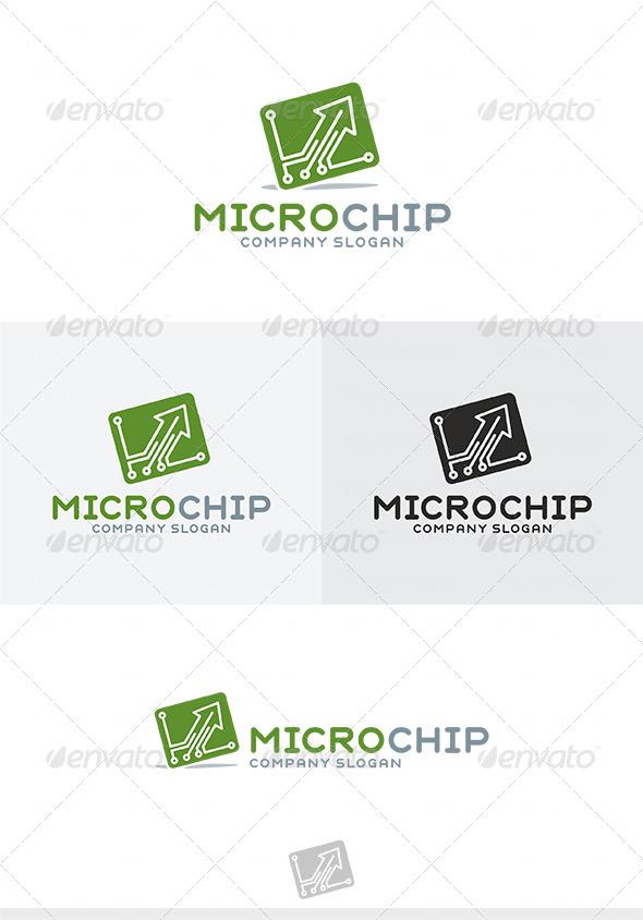 Micro Chip Logo type1 - Symbols Logo Templates