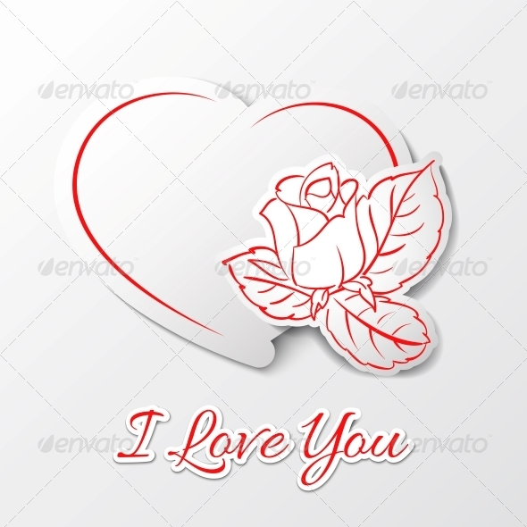 I love you! Valentine's Day. - Miscellaneous Vectors