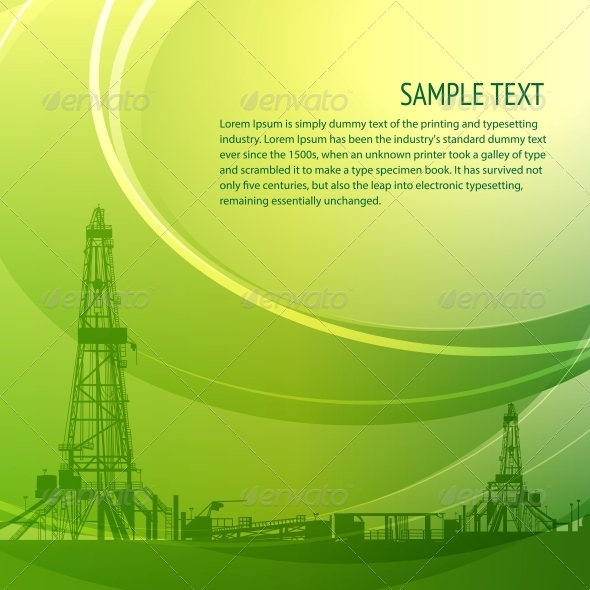 Industrial Banner For Your Text - Abstract Conceptual