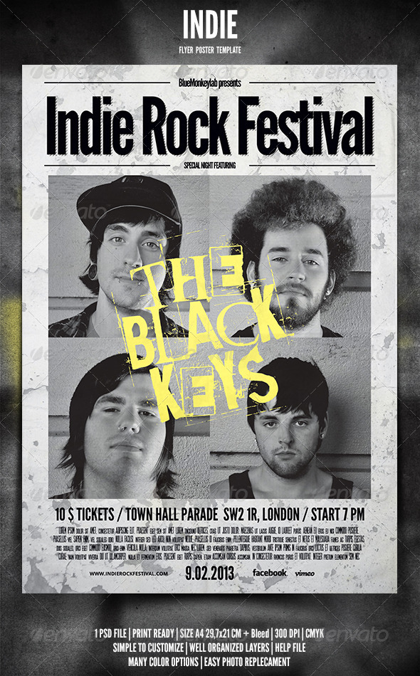 Indie Flyer / Poster 4 - Events Flyers