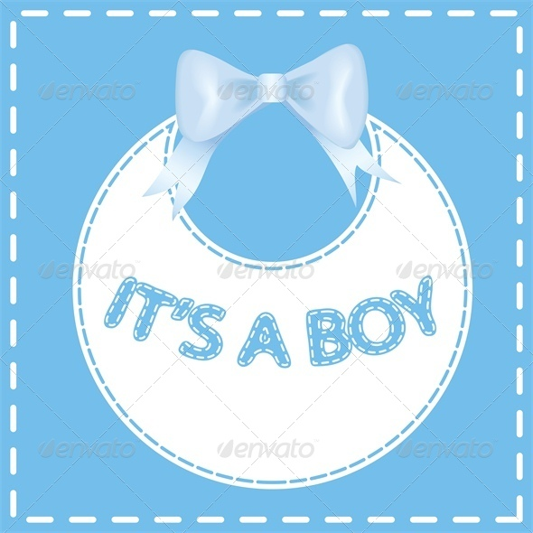 Baby shower invitation card. It's a boy - Miscellaneous Seasons/Holidays
