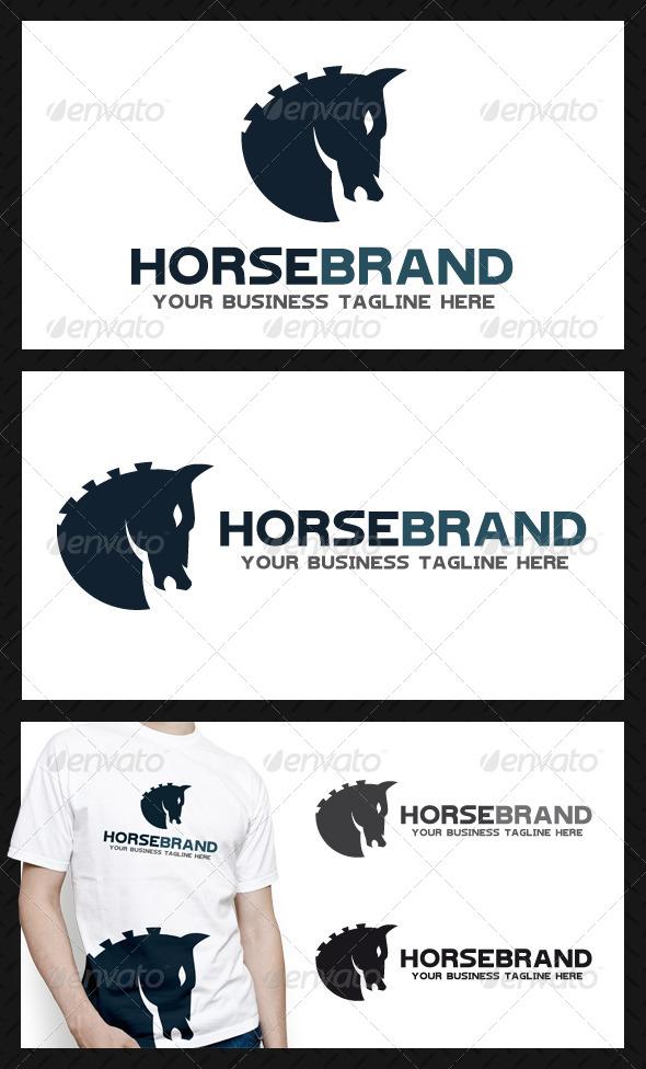 Horse Brand Logo Template - Animals Logo Templates