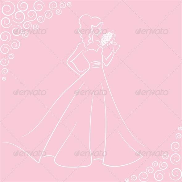 Wedding Pink Card. - Weddings Seasons/Holidays