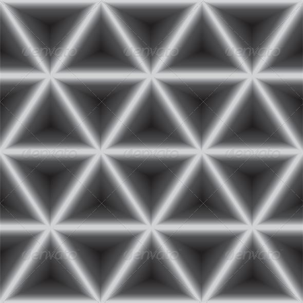 Seamless Geometric Dark Gray Background - Backgrounds Decorative