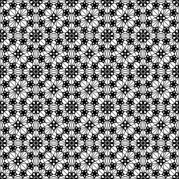 Seamless Lace Pattern  - Backgrounds Decorative