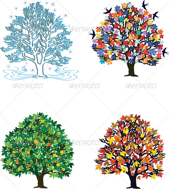 Four Seasons - Seasons/Holidays Conceptual