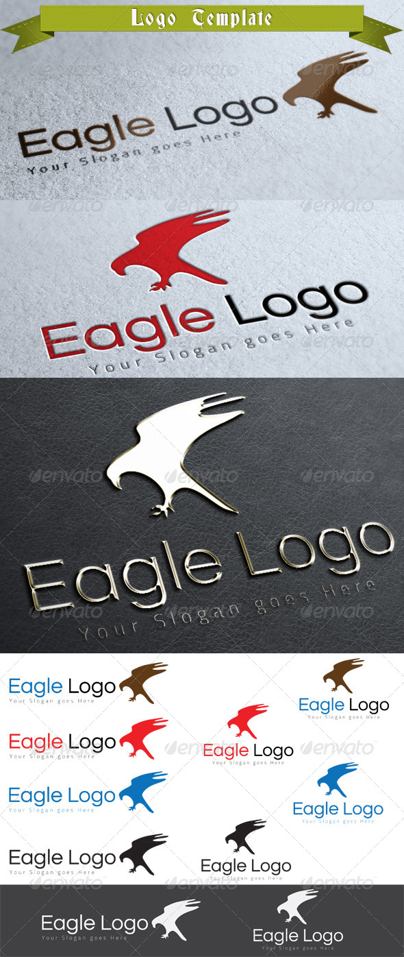 Eagle Logo Template - Animals Logo Templates