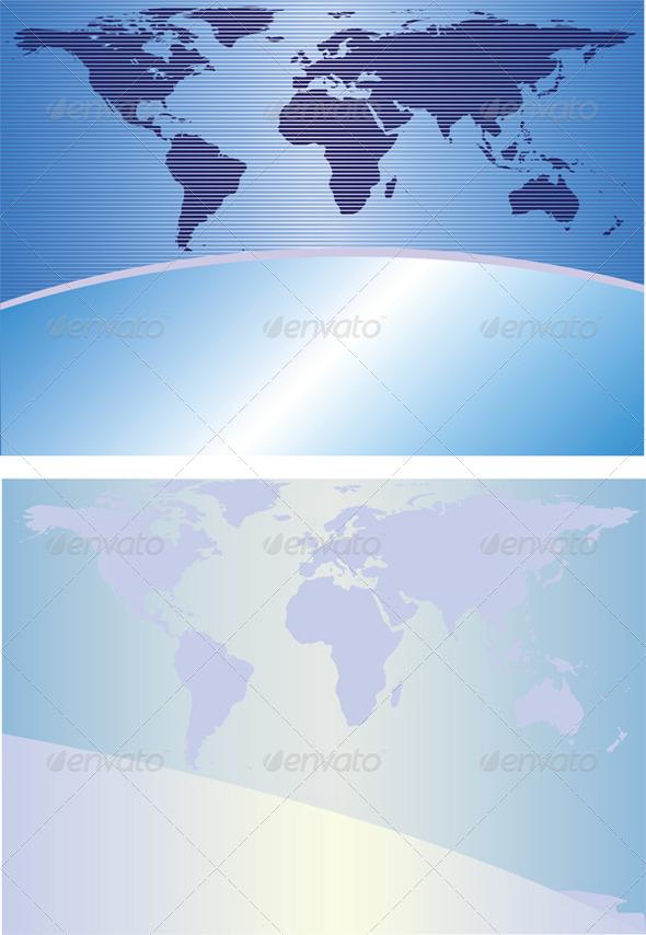 Globe Backgrounds - Backgrounds Decorative