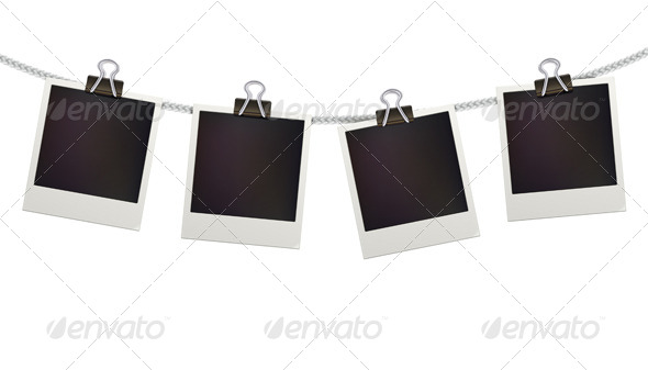Polaroid Photo Frames - Borders Decorative