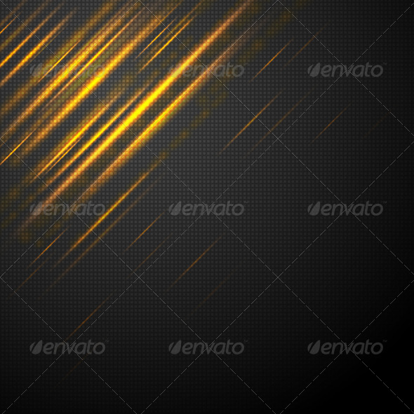 Shiny yellow abstract stripes - Backgrounds Decorative