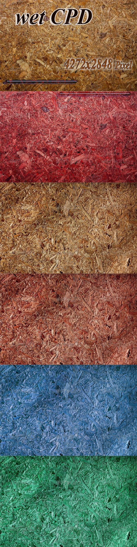 wet CPD - Wood Textures