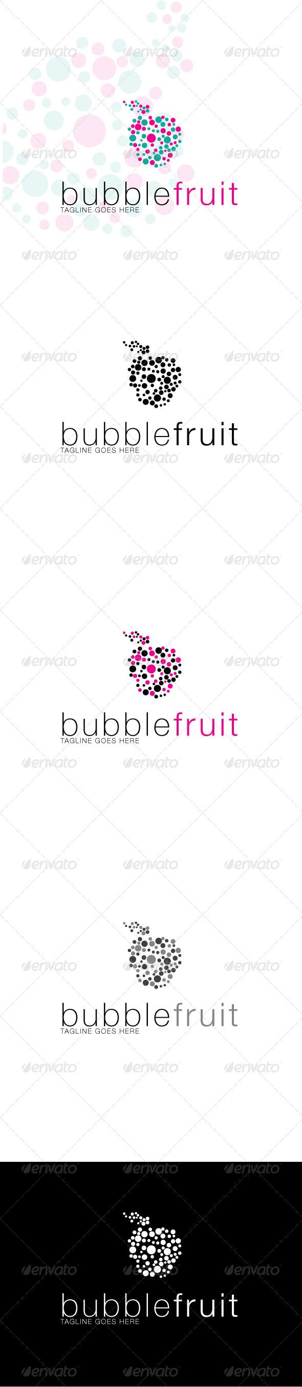Bubblefruit Logo - Symbols Logo Templates