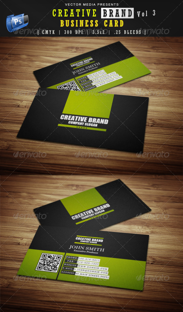 Creative Brand - Business Card [Vol.3] - Creative Business Cards