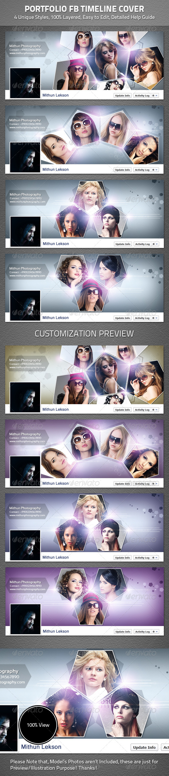 Portfolio FBTimeline Cover - Facebook Timeline Covers Social Media