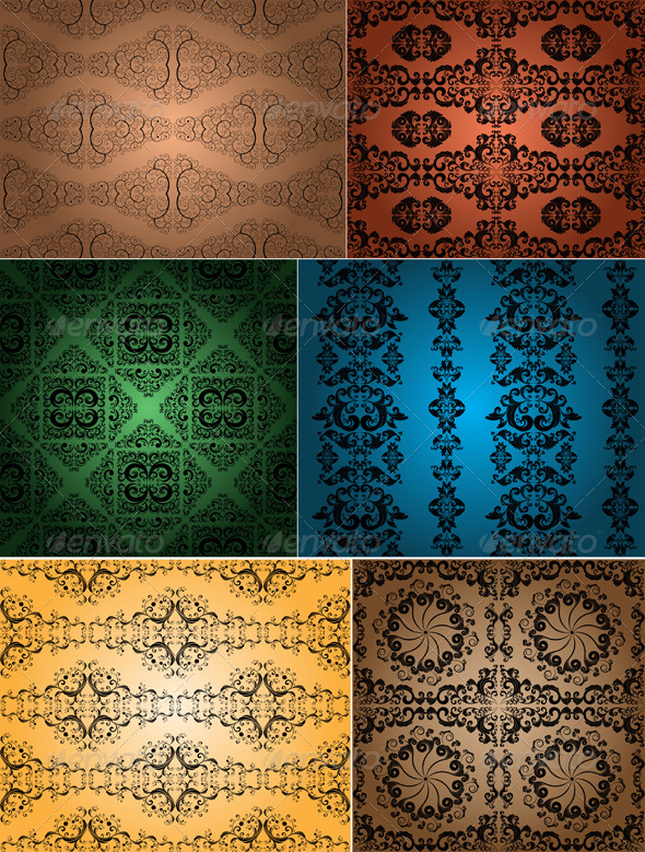vintage wallpapers - Patterns Decorative