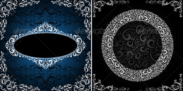 ornamented backgrounds - Backgrounds Decorative