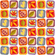 Autumn leaves seamless background pattern - GraphicRiver Item for Sale