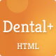 Dental+ HTML Template Nulled