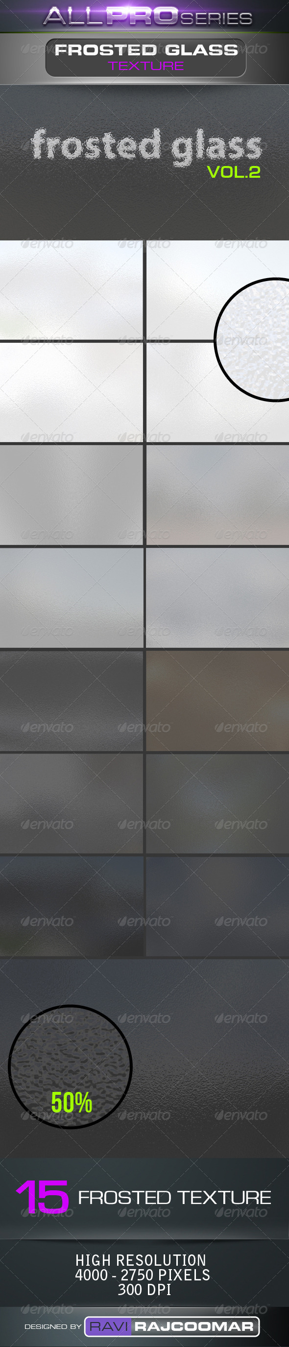 Frosted Glass Backgrounds Vol.2 - Miscellaneous Backgrounds