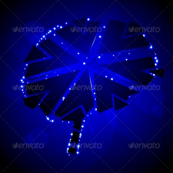 Brain crushing - Abstract Conceptual