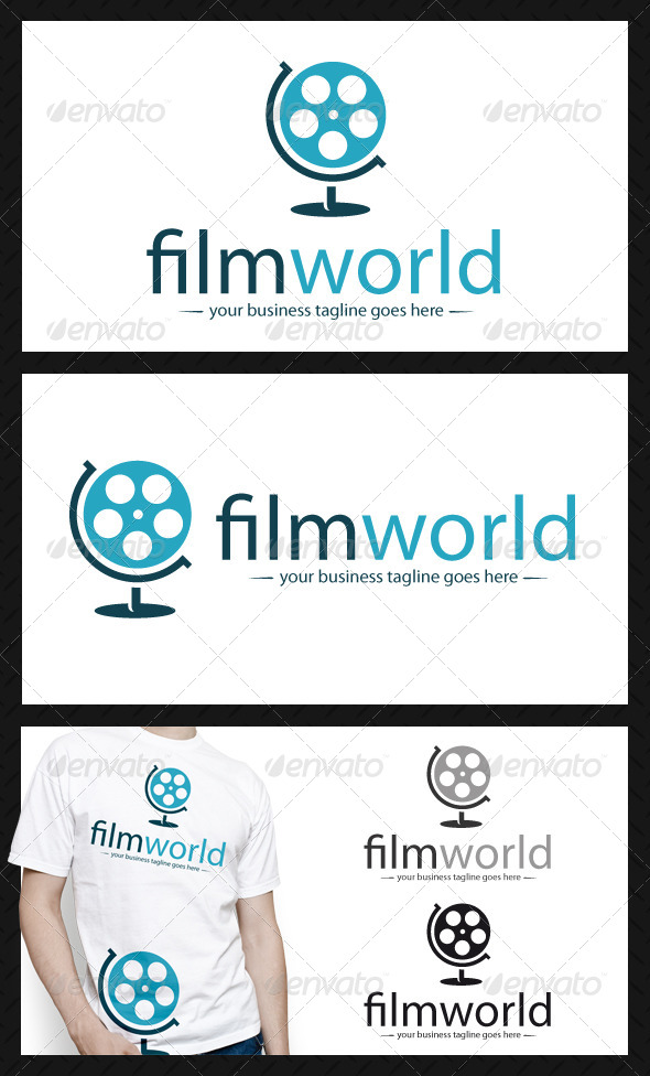 World Movie Logo Template - Objects Logo Templates