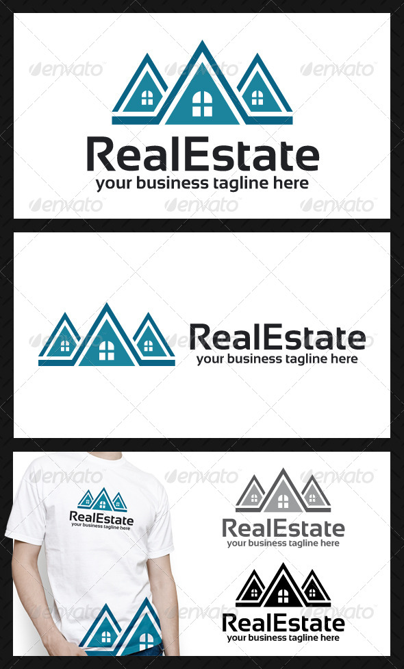 Build Estate Logo Template - Buildings Logo Templates